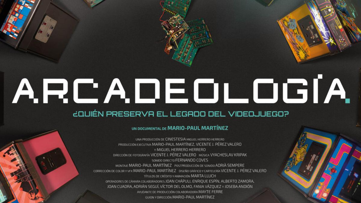 Arcadeology, the documentary film about the preservation of video games in Spain, will hit theaters on July 30