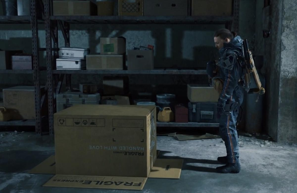 Death Stranding Director's Cut for PS5 is introduced with a nod to Metal Gear
