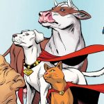 Dwayne Johnson presents DC League of Superpets, the new animated movie featuring DC's mighty pets