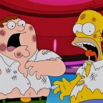 Family Guy was going to have a cameo of The Simpsons so beast that they did not dare to do it