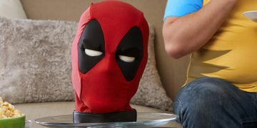 If you want to eat chimichangas in good company, now you have this interactive Deadpool head reduced to 80 euros