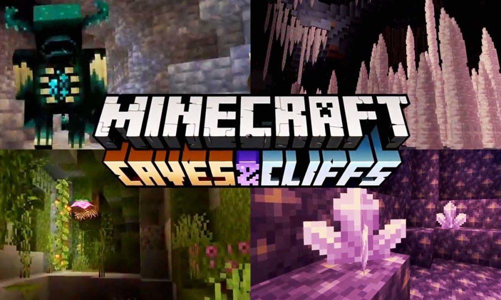 Ya disponible Minecraft 1.17 Caves & Cliff Update parte 1