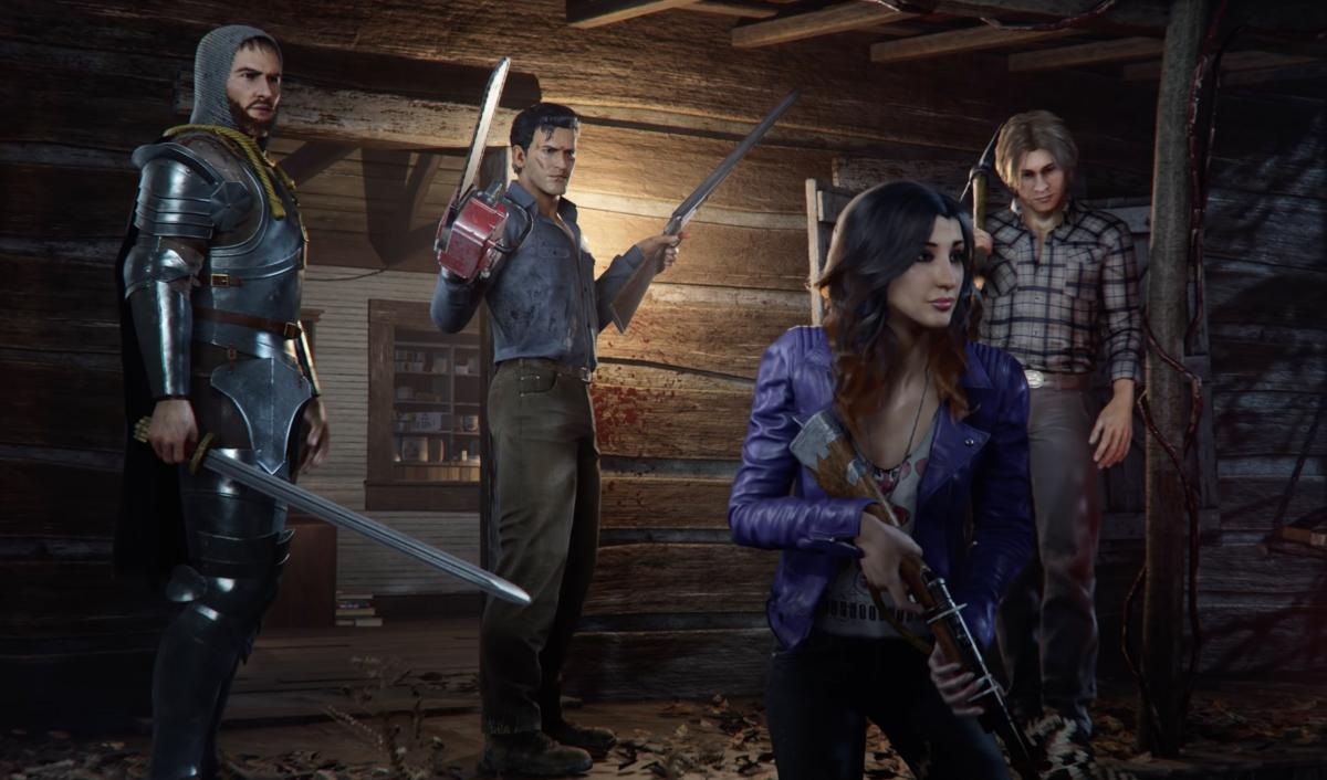 New trailer with gameplay of Evil Dead: the game