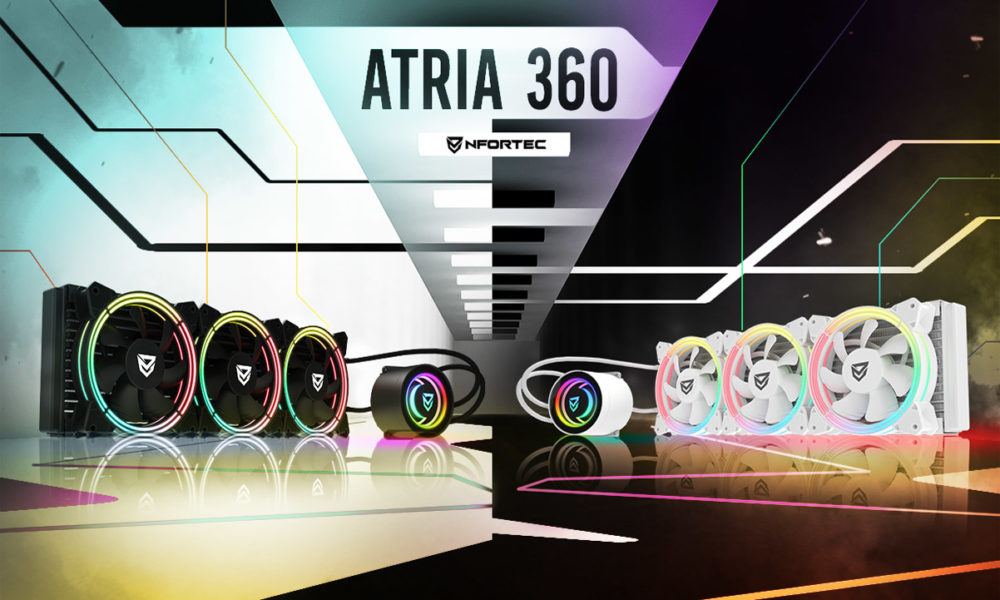 Nfortec Atria 360 refrigeración líquida pc