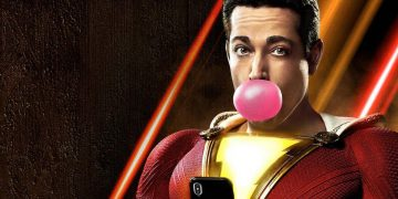Photos from the filming of Shazam!  The fury of the gods show the new suit of Zachary Levi