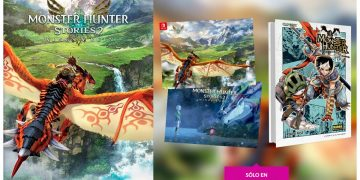 Pre-order Monster Hunter Stories 2 Wings of Ruin at GAME stores to get a free double-sided poster and manga