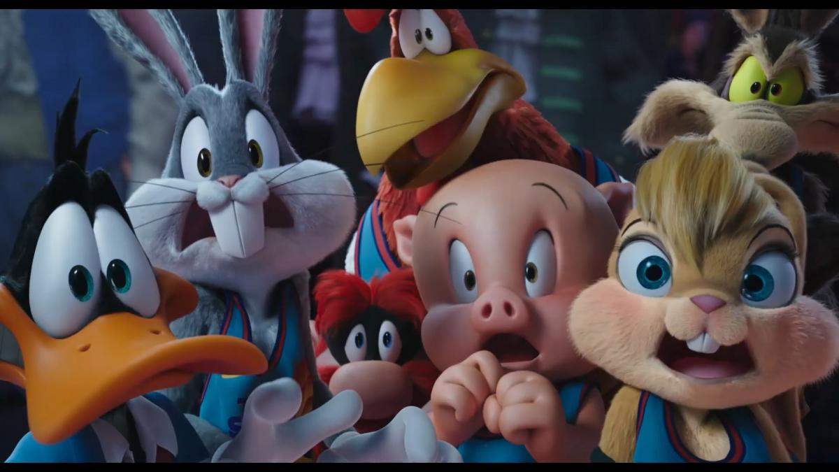 Second trailer for Space Jam 2, with Lebron James, Bugs Bunny and the rest of Looney Tunes