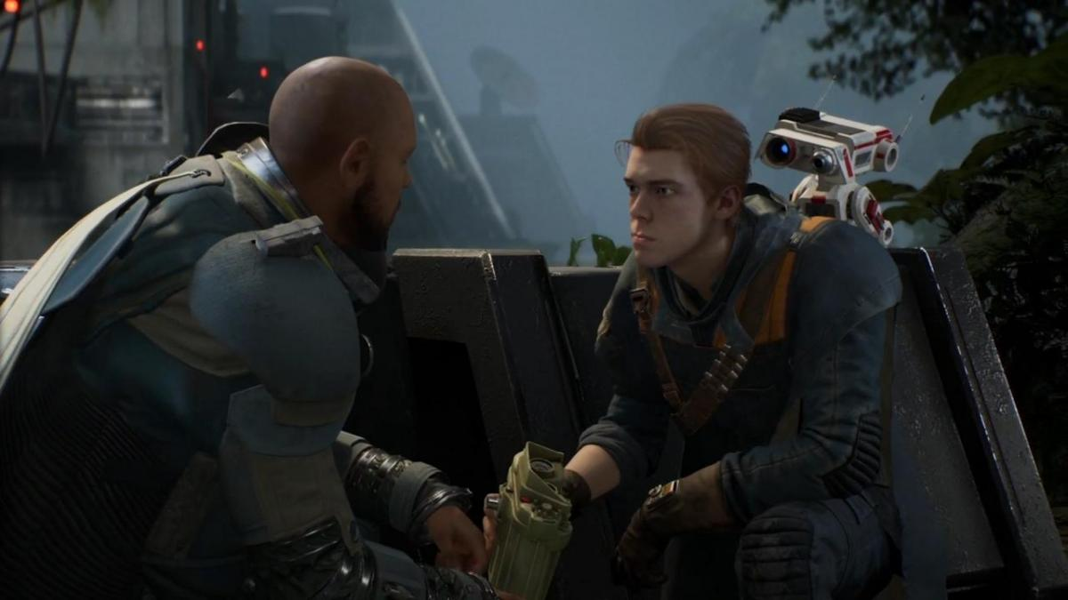 The first copies of Star Wars Jedi Fallen Order appear for PS5 and the trophies are already active