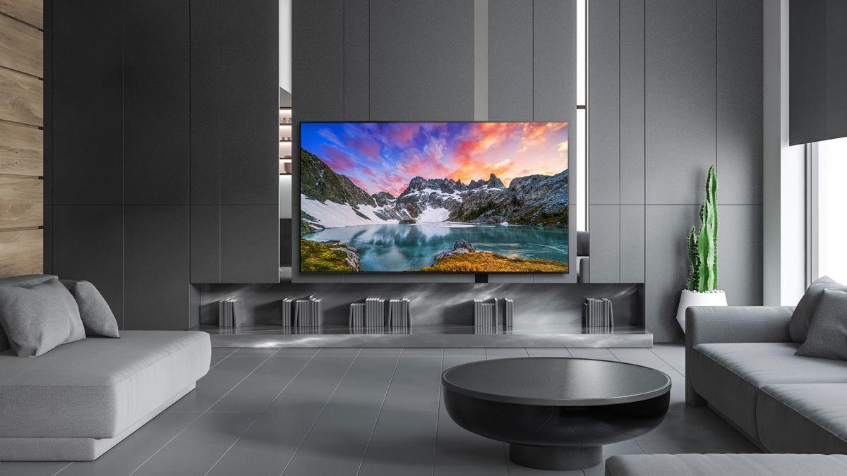 """This 50 """"QLED Smart TV has 4K resolution, Dolby Atmos sound and built-in voice assistant for less than 500 euros"""