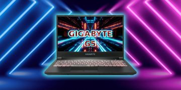 This gaming laptop with RTX 3060 performs like a desktop PC or more and is reduced to 999 euros