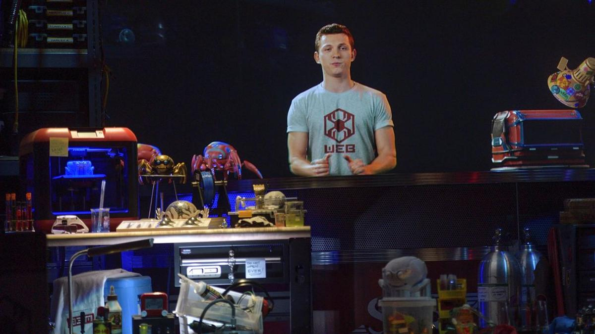 This is Web Slingers, the curious attraction of Avengers Campus that will put your arms in shape