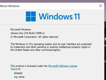 Windows 11 se deja ver por primera vez