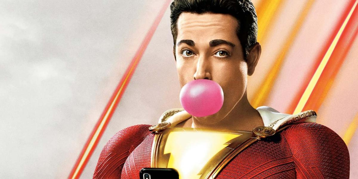 Zachari Levi jokes about the Shazam 2 outfit and the only feature he's still missing