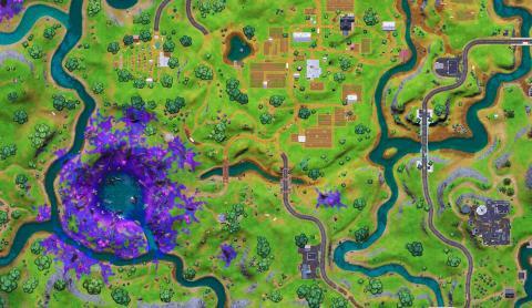 Fortnite Season 7 Map Changes Stream Complex