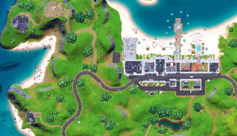 Fortnite Season 7 Map Changes Believer Coast