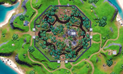 Fortnite Season 7 Map Changes Sneaky Fiefdom