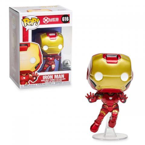 Funko Pop!  Iron Man exclusive to Avengers Campus