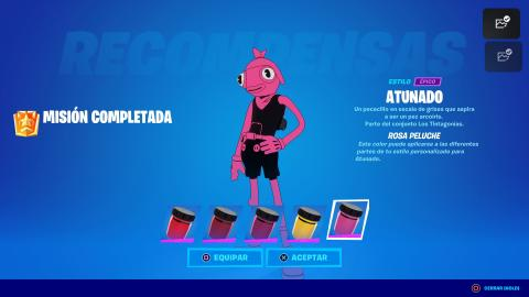 Fortnite pink